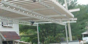 Sunlouvre Semarang Distributor dan Pemasangan Atap Kanopi Buka Tutup Sunlouvre